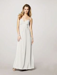 Alfred Angelo Bridal Style 7139 from Bridesmaids - My wedding dress.  Also purchased bling for around the waist