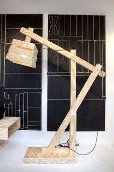 LOOOOVE THIS ... KARWEI | Goed idee nummer 4 om zelf te maken van underlayment: lamp. #DDW14 #karwei #diy