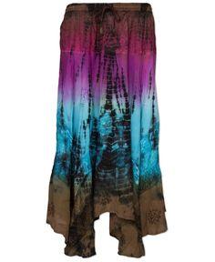 NEW! Dance Gypsy Dance Tie-Dye Skirt #soulflower #hippie #skirt