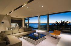minimalist interior sleek-chic concept house design