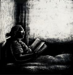 cuando despierto mama esta leyendo by H_ Helmuth, via Flickr