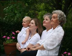 4 generation portraits
