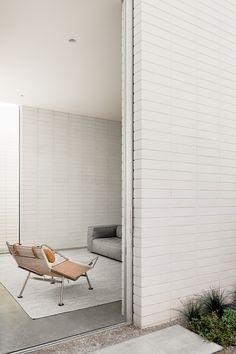 Tour The Australian Interior Design Award-Winning Projects - The Design Files Australian Interior Design, Interior Design Awards, Decor Interior Design, Interior Exterior, Interior Architecture, Brick Interior, Room Interior, White Brick Tiles, Brick Walls