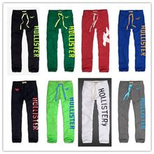 ! HotSale men hollistic brand trousers / men sports jogger pants Thick masculinas boy casual sweatpants Winter & Autumn & Spring(China (Mainland))