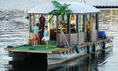 homemade houseboats | Check out Bud Light's tribute to