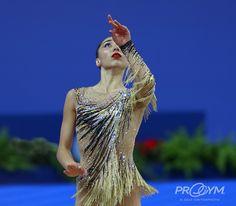 Salome PAZHAVA (Georgia)🇬🇪 ~ Ball  @ World Challenge Cup Pesaro-Italy🇮🇹 03/09/'17🇮🇹 💖💖  Photo by ProGym.
