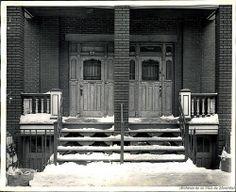 Maison de prostitution au 1225-1227-1229 de Bullion, années 1940. P43-3-2_V24_E220-011