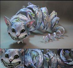 Cheshire Cat @abbey Murray 19 phantasmagorical animals by Ellen Jewett | Ufunk.net
