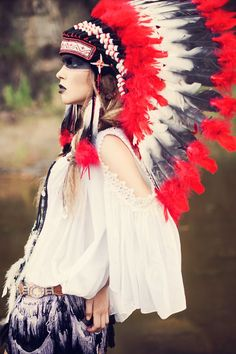 ♔ Native American style