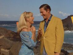 I Dream of Jeannie: Season Episode 3 The Second Greatest Con Artist in the World Sep. Milton Berle, Barbara Eden, I Dream Of Jeannie, Episode 3, Season 3, My Dream, Two By Two, Black And White, Couple Photos