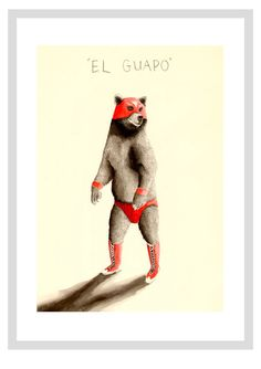 Jimbob | El Guapo print - A3 print