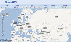 GmapGIS: crea anotaciones, indicaciones o reseñas sobre un mapa de Google y compártelo