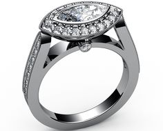 marquise settings rings - Google Search