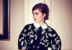 DIY Louis Vuitton Inspired Peter Pan Collar