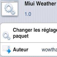 La météo locale sur votre homescreen grâce au tweak Miui Weather iWidget - http://www.applophile.fr/la-meteo-locale-sur-votre-homescreen-grace-au-tweak-miui-weather-iwidget/
