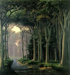 Amazing Landscape Paintings By Tomas Sanchez Tag Art, Landscape Art, Landscape Paintings, Street Art, Cuban Art, Spiritual Images, Tree Forest, Nature Images, Graphic