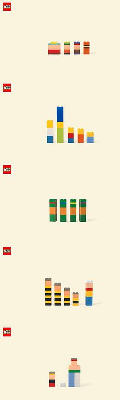 Campanya Imagina de Lego. Genial!