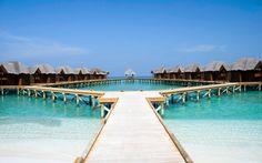 Vízi bungallók #maldives