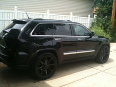 Picture Thread - Page 23 Grand Cherokee Srt8, Jeep Cherokee, My Dream Car, Dream Cars, All Black Jeep, Jeep Wk, Positive Things, Jeep Compass, Jeep Stuff