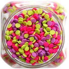 Neon Polka Dot Sprinkles | Decorating | Layer Cake Shop