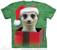 Meerkat Present T-Shirt - 30% DISCOUNT ON ALL ITEMS - USE CODE: CYBER  #Cybermonday #cyber #discount