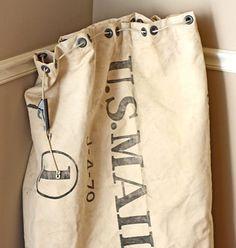 Old U.S. Mail bag.
