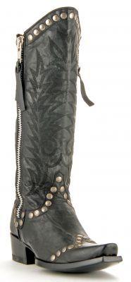 Womens Old Gringo Rockrazz Boots Black #L598-2 via @Chris Cote Cote Allen & Cheryl Smith Boots
