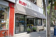 Ruby Eats a fabulous find in Toronto owed/operated by Chef Lynn Crawford Lynn Crawford, Exterior Signage, Espresso Shot, Food Network Canada, Iron Chef, Executive Chef, Toronto, Gta, World