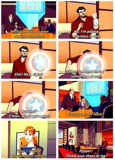 Tony Stark is at it again… hahaha