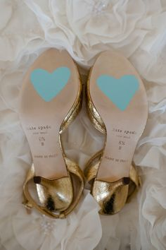 Something Blue Heart - Bridal Shoes - Photo Source • RAE Portraits