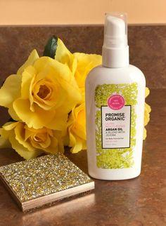 Promise Organic Argan Oil with Jojoba, neversaydiebeauty.com