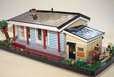 I like this House. Simple but cosy looks. good design. #lego #legoo #legos #legooo #legoart #legoland #legolas #legostagram #legophotography #legocity #legocreator #legocitylife #legogram #legomoc #legomania #legominifig #legomodular #legominifigs #legominfigure #legominfigures #legominifigures #afol #legobrick #legobricks #legobuilder #brick #bricks #legofan #legofans by lego_waro Lego Boards, Lego Builder, Lego 4, Lego Minifigs, Lego Modular, Lego Photography, Cool Lego Creations, Lego Creator, Custom Lego