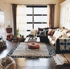 living room cozy