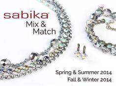 Beautiful Summer colors, Big Apple Necklace with Edelweiss Sabika London TM Choker, Big Apple Stretch Bracelet with Edelweiss Sabika London TM Bracelet