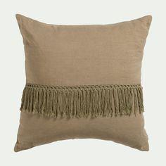 coussins du canapé zierkissen avec remplissage Décoration-Coussin paris marron 45x45cm