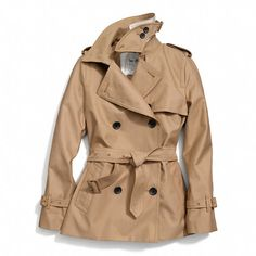 Coach  Classic Short Trench