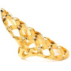 Amrita Singh Rosaline Ring ($50) ❤ liked on Polyvore