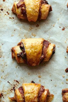Image for Apple Butter Rugelach Apple Recipes, Holiday Recipes, Cookie Recipes, Dessert Recipes, Desserts, Rugelach Cookies, Rugelach Recipe, Jewish Recipes, Thing 1