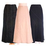 modest long skirts at New creation women apparel