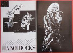 HANOI ROCKS MICHAEL MONROE DAVID SYLVIAN 1984 CLIPPING JAPAN MAGAZINE K3 B12 5P | Entertainment Memorabilia, Music Memorabilia, Rock & Pop | eBay!