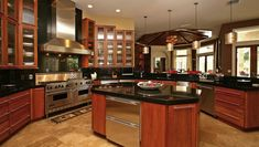 Luxury Kitchens, Cool Kitchens, Kitchen Design, Kitchen Decor, Big Kitchen, Ranch Kitchen, Awesome Kitchen, Ikea Kitchen, Kitchen Layout