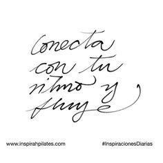 Conecta con tu ritmo y fluye.  #InspirahcionesDiarias por @CandiaRaquel  Inspirah mueve y crea la realidad que deseas vivir en:  http://ift.tt/1LPkaRs