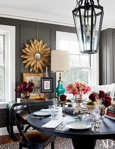 Standout Dining Tables Set for Entertaining