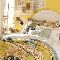 Scalloped Organic Patchwork Quilt & Sham from Pottery Barn