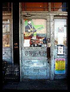 """Blues Alley"", Ground Zero Blues Club, Clarksdale, Mississippi 2006"