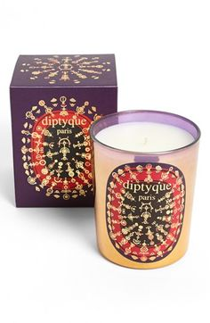 Diptyque 'Indian Incense' Candle is a gorgeous, heady scent that evokes the best church incense experience you can recall.  For me, it's Notre Dame de Paris in a jar!
