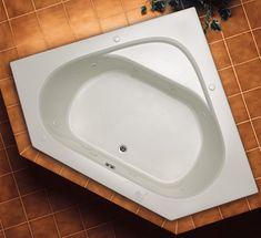 Soho 1 Corner Drop In Acrylic Tub