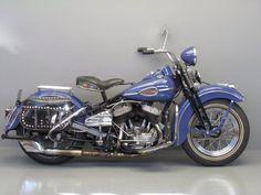 Harley Davidson 1942 WLC 750 cc