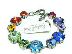 Swarovski Elements Armband Glamour Multi Günstig