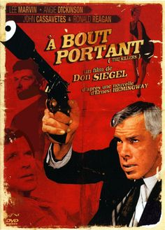 LEE MARVIN - ANGIE DICKINSON - JOHN CASSAVETES - RONALD REAGAN - THE KILLERS - A BOUT PORTANT - (DON SIEGEL 1964)